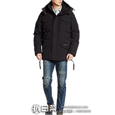 日本亚马逊:Canada Goose 加拿大鹅 CONSTABLE  男款羽绒服 特价102600日元,会员或试用会员下单8折实付82080日元(¥4973),到手约¥5080