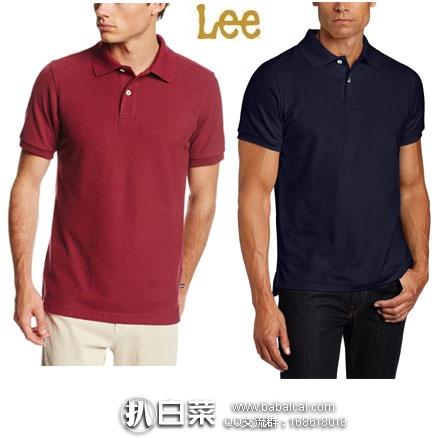 亚马逊海外购:LEE 李牌 男士 经典款短袖POLO衫  现特价¥69.32元起