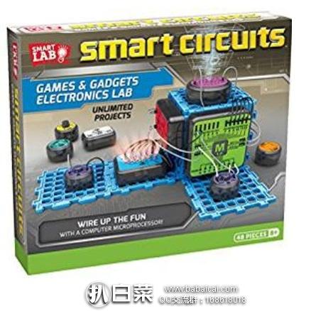 SmartLab Toys 智能电路游戏与电子实验室 原价$50,现特价$29