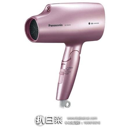 日本亚马逊:Panasonic 松下 EH-NA58 纳米双重离子保湿电吹风机 降至8980日元,领券9折实付8082日元(¥470)