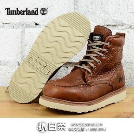 亚马逊海外购:Timberland 天木兰 PRO 男士 6英寸真皮工装靴 降至¥522.54,直邮免运费,含税到手¥585