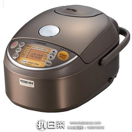 亚马逊海外购:Zojirushi 象印 NP-NVC10 微电脑电磁感应式智能加压电饭煲 特价¥2618.8,直邮免运费,含税到手约¥3404!
