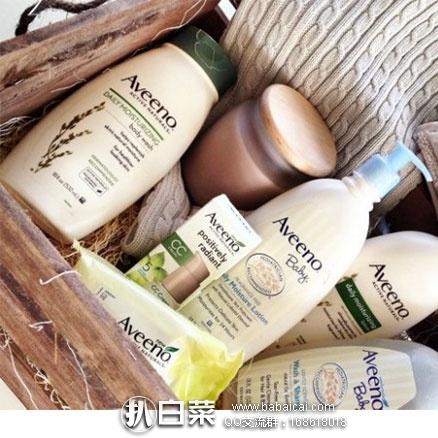 亚马逊海外购:Aveeno 艾维诺 天然燕麦高效保湿沐浴露 354ml*3瓶 降至¥116.16 ,凑单免费直邮到手到手¥145.2