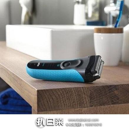 日本亚马逊:Braun 博朗 3020s-B干湿两用充电式电动剃须刀 现4140日元(¥247)