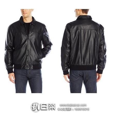 Calvin Klein 男士仿皮夹克 特价$24.08,到手¥260