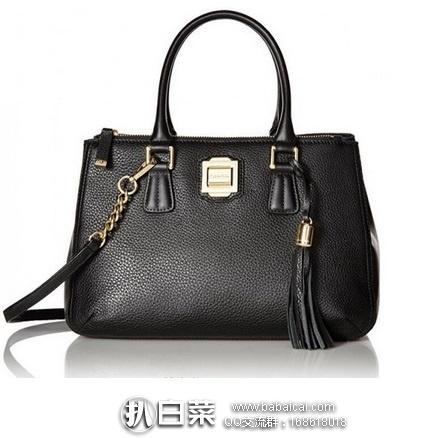 Calvin Klein 女士真皮单肩包 原价$248,现3.1折历史新低$76.41,到手仅¥630