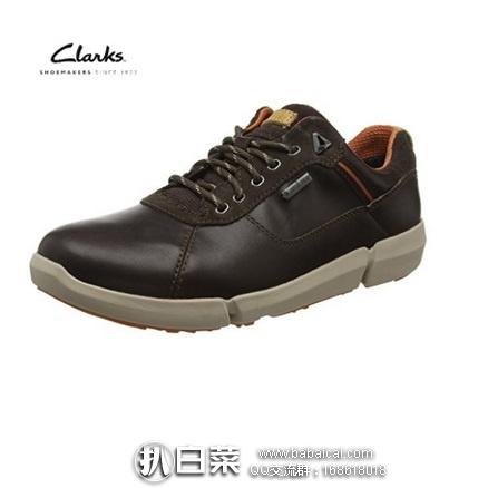 英国亚马逊:Clarks 其乐 Triman系列男防水真皮户外鞋 原价£120,现£47.49,直邮退税实付£39.58,直邮含税到手约¥491