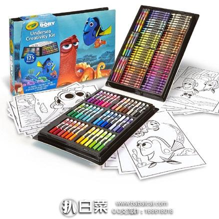 亚马逊海外购:Crayola 绘儿乐 Undersea 创意礼盒套装 特价¥84.73,凑单直邮免运费,含税到手¥99