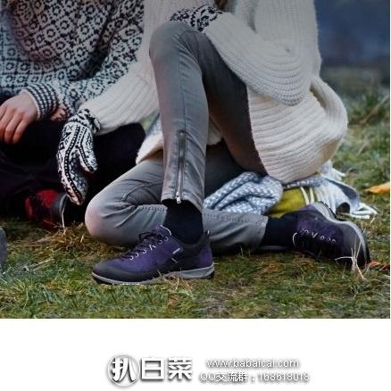 6pm:ECCO 爱步 Sport Yura 女款户外徒步鞋 原价$150,现新低价$60,到手¥495,国内¥1999