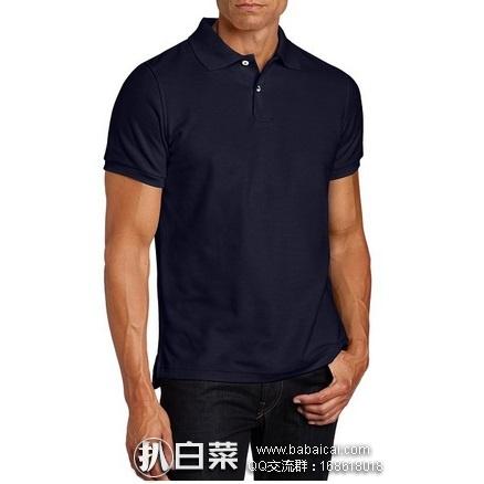 亚马逊海外购:Lee 李 Uniforms 男士短袖POLO衫 特价¥69.34,凑单直邮免运费,含税到手仅¥783