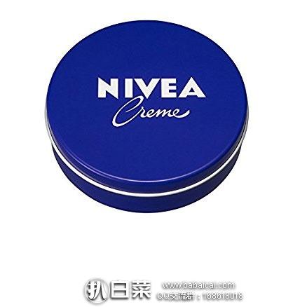 京东海囤全球:Nivea 妮维雅 经典蓝罐长效润肤霜/护手霜150ml 铁盒 现¥39,领券减¥10实付¥29包邮