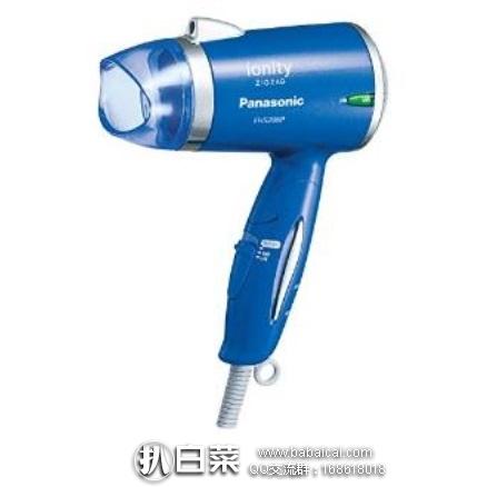 日本亚马逊:Panasonic 松下 EH5206 便携式负离子吹风机 特价4083日元(¥247)