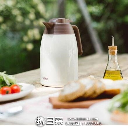 日本亚马逊:THERMOS膳魔师THV-1501 不锈钢保温壶1.5L 历史低价2636日元(¥160)