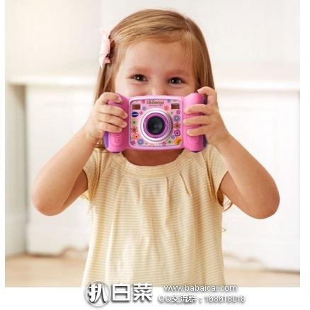 亚马逊海外购:VTech 伟易达 Kidizoom 3倍聚焦儿童数码相机 可连电脑 特价¥208.84,直邮免运费,含税到手约¥232
