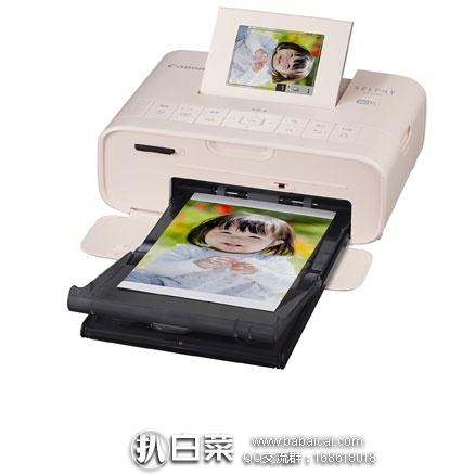 日本亚马逊:Canon 佳能 SELPHY CP1200 便携无线照片打印机  特价9885日元,直邮含税到手共11980日元(约¥730)