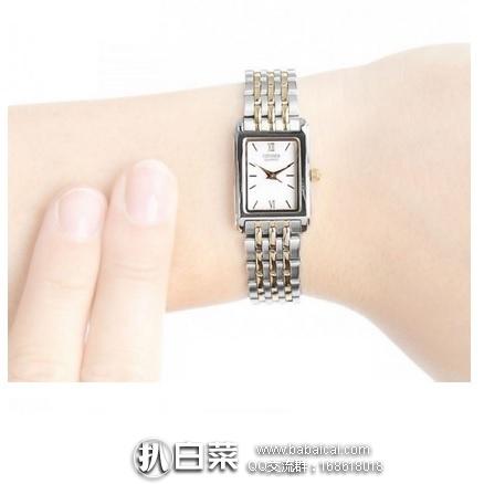 亚马逊海外购:Citizen 西铁城 女士时尚腕表 特价¥311.19,直邮免运费,含税到手仅¥348
