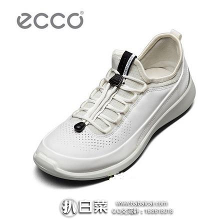 ECCO 爱步 柔酷5号 女士真皮运动休闲鞋 图案家$140,现$58.02,到手¥495,国内¥1259+