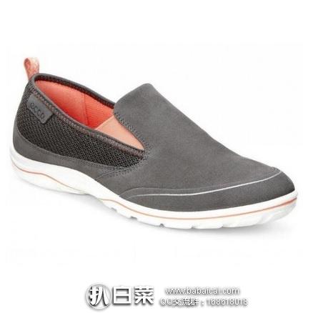 6pm:ECCO 爱步 艾莉娜 女士真皮休闲鞋 原价$110,现4.1折$44.99,到手¥390