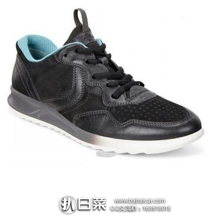 2017年新款,ECCO 爱步 珍娜系列 女士真皮运动休闲鞋 原价$130,现4.5折历史新低$58.03左右,到手¥495,国内¥1439