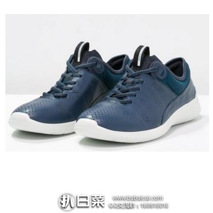 ECCO 爱步 柔酷5号 女士真皮运动休闲鞋 原价$150,现$58.02,到手¥495