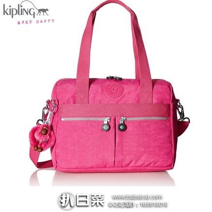 kipling 吉普林 KLARA 单肩斜挎手提包 原价$109,现$46.91    到手¥385,国内¥1050