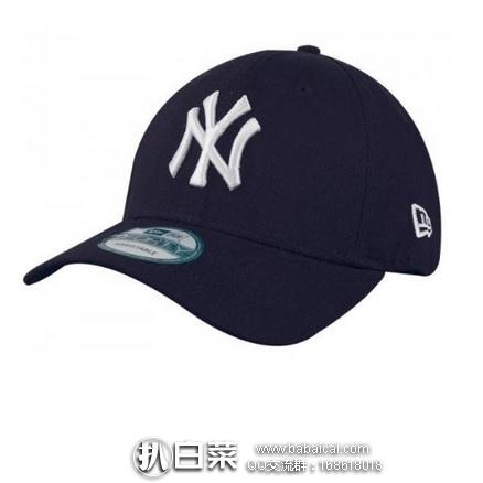 亚马逊海外购:MLB New York 扬基队男士棒球帽 降至¥99.21,凑单直邮免运费,含税到手约¥108