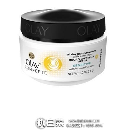 亚马逊海外购:Olay 玉兰油 全天防护保湿霜 56g*3瓶 特价¥121.02,凑单直邮免运费,含税到手约¥45/瓶