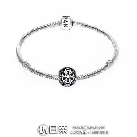亚马逊海外购:Pandora 潘朵拉 镂空雕花银质串珠 790965 降至¥123,凑单直邮免运费,含税到手价仅¥145