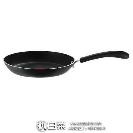 亚马逊海外购:T-fal 特福带火红点不粘煎锅 10.25英寸 特价¥119.83,凑单直邮免运费,含税到手仅¥134