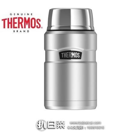 亚马逊海外购:Thermos 膳魔师 King 24-Ounce 帝王杯系列 焖烧罐(720ml) 特价¥124.5 ,凑单直邮免运费,含税到手仅¥139