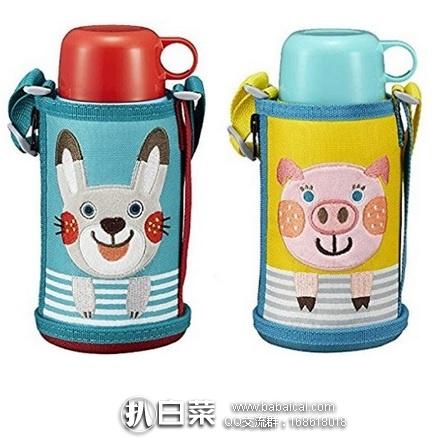 日本亚马逊:TIGER 虎牌 MBR-B06G 儿童两用保温杯 小猪/小兔子款 600ml 现预售好价5505日元(¥334)