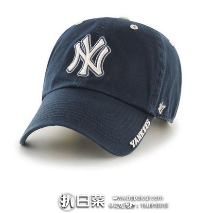 亚马逊海外购:MLB New York 扬基队男士 47 棒球帽 特价¥124.26,凑单直邮免运费,含税到手约¥140