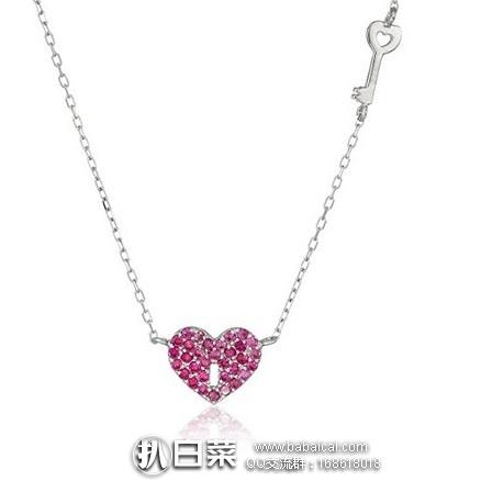 亚马逊海外购:Amazon Collection 心形项链 特价¥59.69,凑单直邮免邮费,含税到手约¥70
