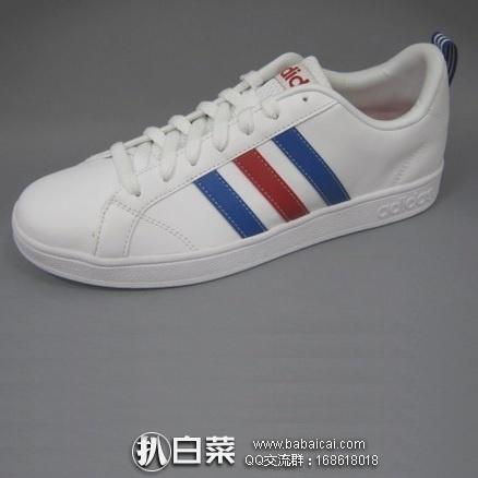 日本亚马逊:Adidas 阿迪达斯 VALSTRIPES2 K CFP36 男士休闲运动鞋 好价3879日元(¥232)