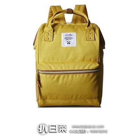 日本亚马逊:日本潮流街包 anello 时尚双肩包AT-B0197B 特价2722日元(¥164)