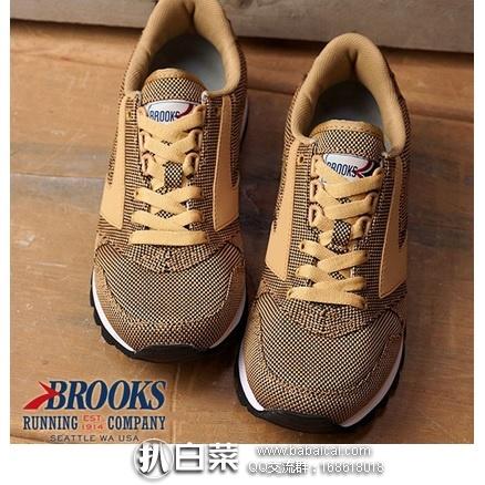 6pm:Brooks 布鲁克斯 女士时尚复古跑鞋 原价$80,现历史新低$28.96,到手约¥285