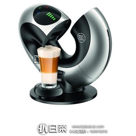 亚马逊海外购:De'Longhi 德龙 EDG736 全自动胶囊咖啡机 特价¥940.34,直邮免运费,含税到手¥1052 天猫¥2090!