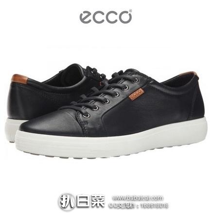 ECCO 爱步 柔酷 女士真皮休闲鞋 特价$75,到手¥615,国内¥1599