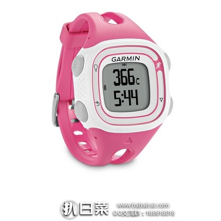 亚马逊海外购:Garmin 佳明 Forerunner 10 GPS运动碗表 特价¥276.6,直邮免运费,含税到手¥310 好价!