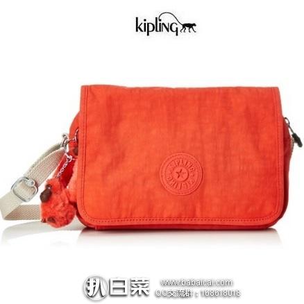 亚马逊海外购:KIPLING 吉普林 Delphin N 单肩小挎包 降至¥174.56,凑单直邮免运费,含税到手¥195
