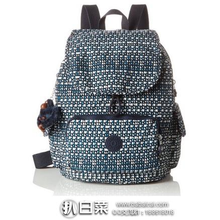 亚马逊海外购:Kipling 吉普林 City Pack 都蓝白几何印花双肩背包 特价¥298.78,直邮免运费,含税到手¥¥334