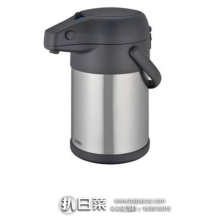亚马逊海外购:THERMOS膳魔师大容量TAH-3000 不锈钢真空保温热水壶 3L  降至¥¥302.75,直邮免运,含税到¥337