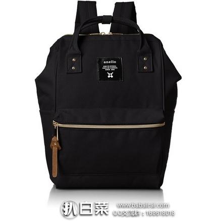 日本亚马逊:日本潮流街包 anello 时尚双肩包 背包 AT-B0197B 特价2891,用码85折实付新低价2457日元(¥155)
