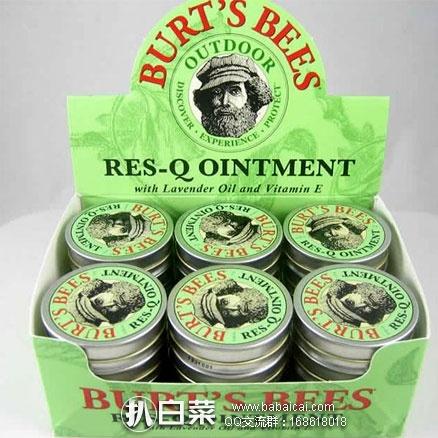 亚马逊海外购:Burt's Bees 小蜜蜂 蚊虫叮咬消炎止痒紫草膏 15g*3个装 现¥112.31,凑单直邮免运费,含税到手约¥126