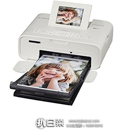 亚马逊海外购:Canon 佳能 Selphy CP1200 无线照片打印机 现特价¥583.63,直邮免运费,含税到手¥653