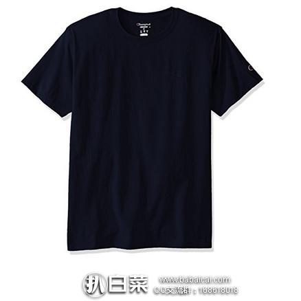 亚马逊海外购:Champion 冠军牌 男士纯棉圆领T恤 特价¥49.87起,凑单直邮免运费,含税到手仅¥56起