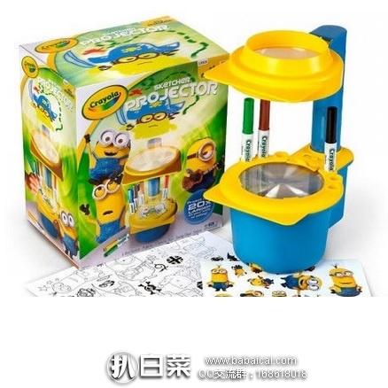亚马逊海外购:Crayola 绘儿乐 发光投射画板 小黄人款 特价¥107.7,凑单直邮免运费,含税到手¥121
