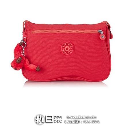 亚马逊海外购:Kipling 吉普林 帆布收纳包 手拿包 特价¥155.47,凑单直邮免运费,含税到手¥174