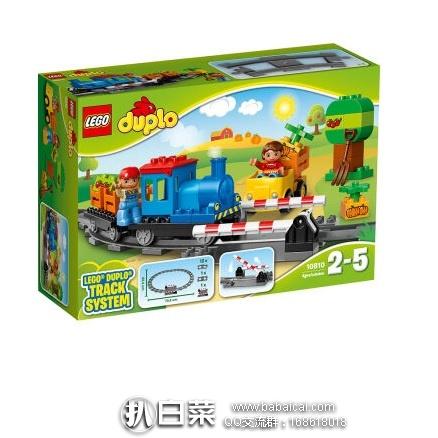 京东商城:LEGO 乐高 10810DUPLO 得宝系列 小火车套装益智积木玩具限时秒杀¥209,还可凑单满¥399-50,或一次买2套满减到手合¥184/套