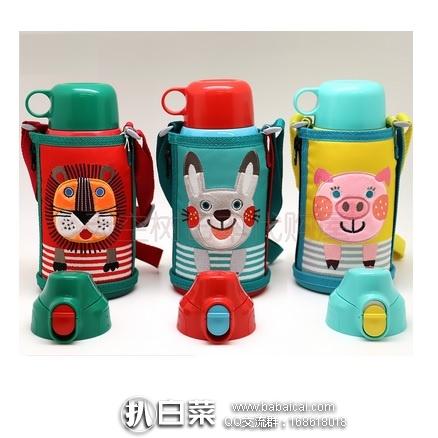 日本亚马逊:TIGER 虎牌 MBR-B06G  儿童两用保温杯 0.6L 补货4418日元(¥268)